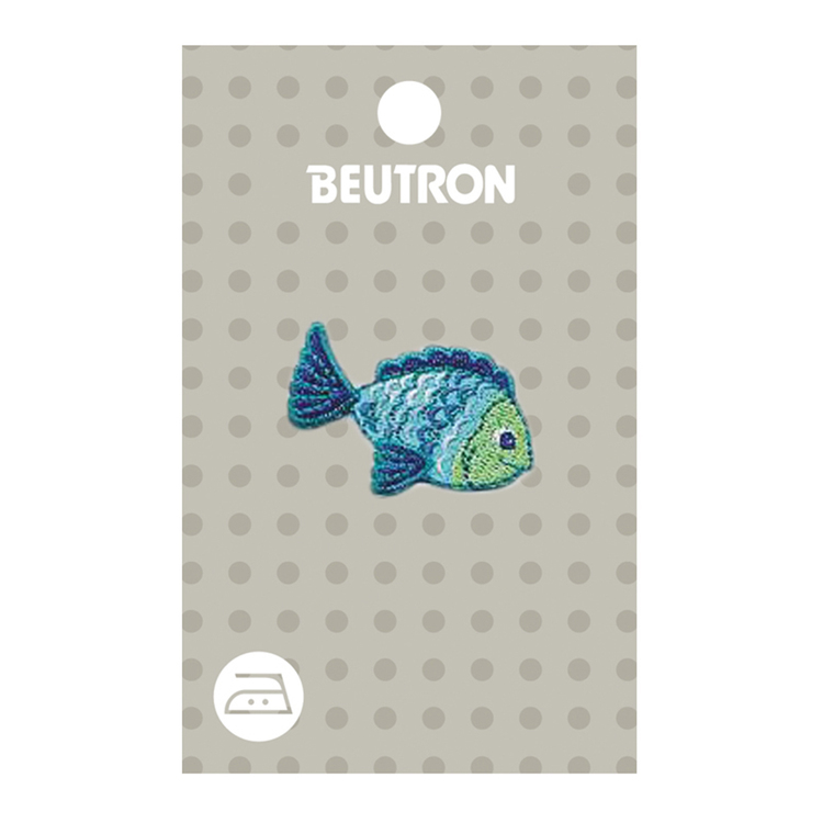 Beutron Blue Fish Motif