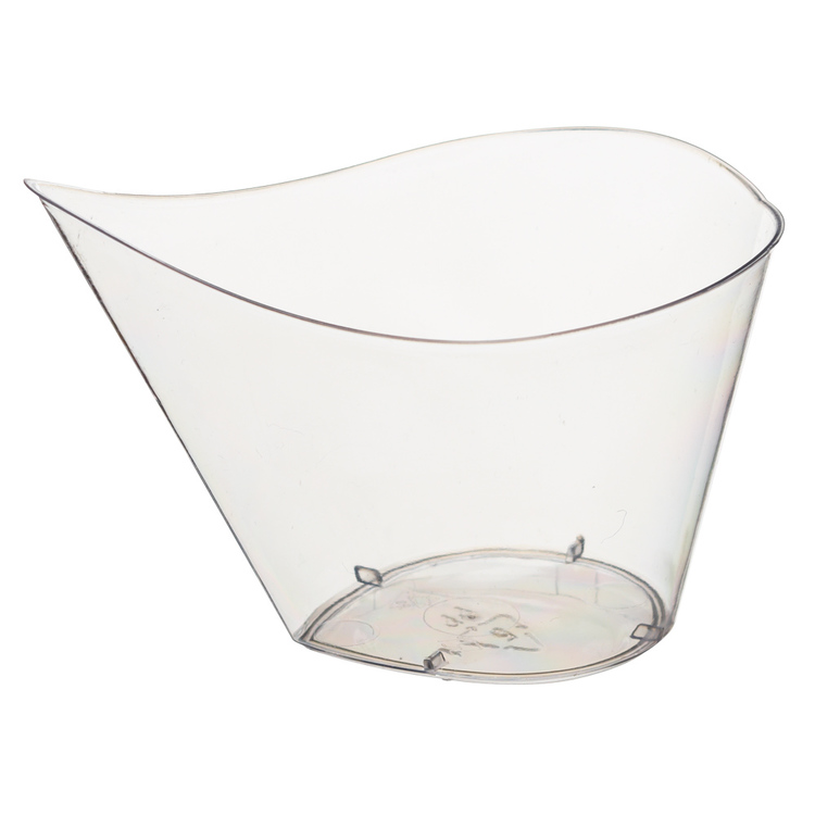 PartywareTear Shaped Mini Dish 12 Pack Clear