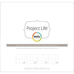 Project Life Becky Higgins Variety Pocket 4