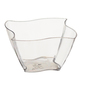 Partyware Mini Wave Bowl Dish 12 Pack Clear