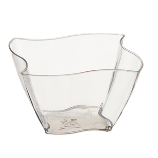 Partyware Mini Wave Bowl Dish 12 Pack