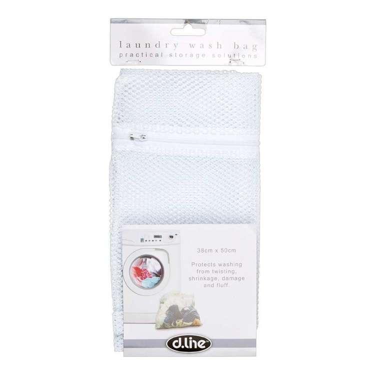 D.Line Clip Strip Nylon Net Laundry Bag