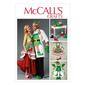 McCalls M6860 Aprons, Oven Mitts, Hat, Slippers, & Table Leg Decorations  All Sizes