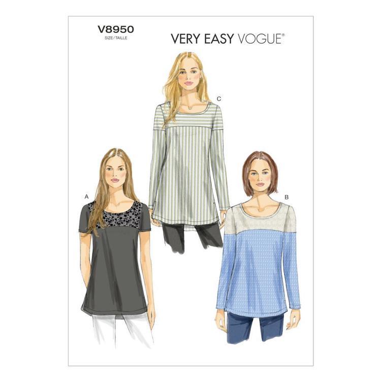 Vogue Pattern V8950 Misses' Tunic