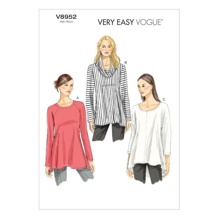 Vogue Pattern V8952 Misses' Tunic