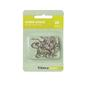 Tribeca Screw Hooks Silver