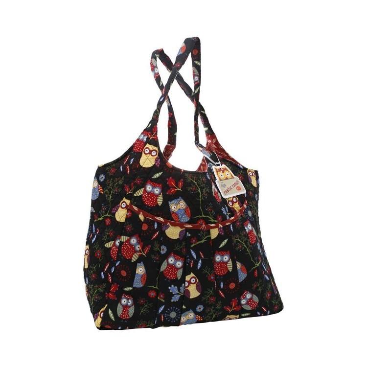 Sew Easy Rustic Owls Maxi Knit Bag