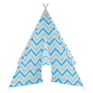 Kids House Zig Zag Star Tee Pee