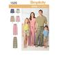 Simplicity 1520 Unisex Pants  X Small - X Large