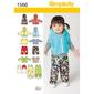 Simplicity Pattern 1566 Baby Coordinates  XX Small - Large