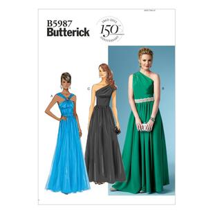 Butterick Pattern B5987 Misses' Dress