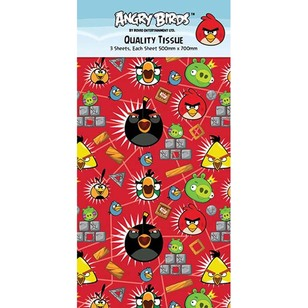 Artwrap Angry Birds Tissue Paper