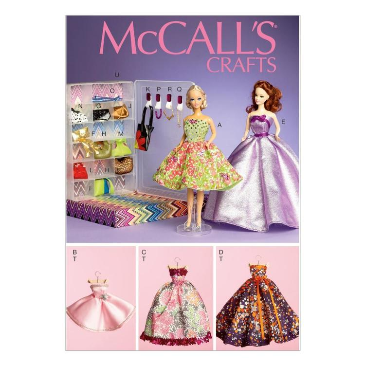 McCall's Pattern M6903 Clothes & Accessories For 1112