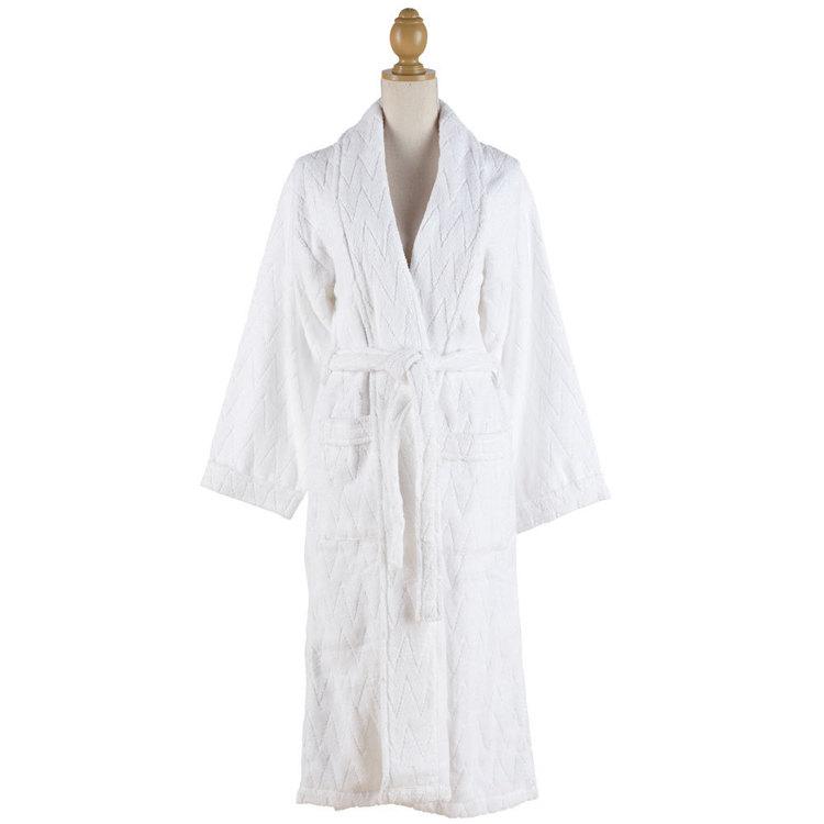 Hotel Savoy Bath Robe White