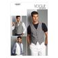 Vogue Pattern V8987 Men's Vest
