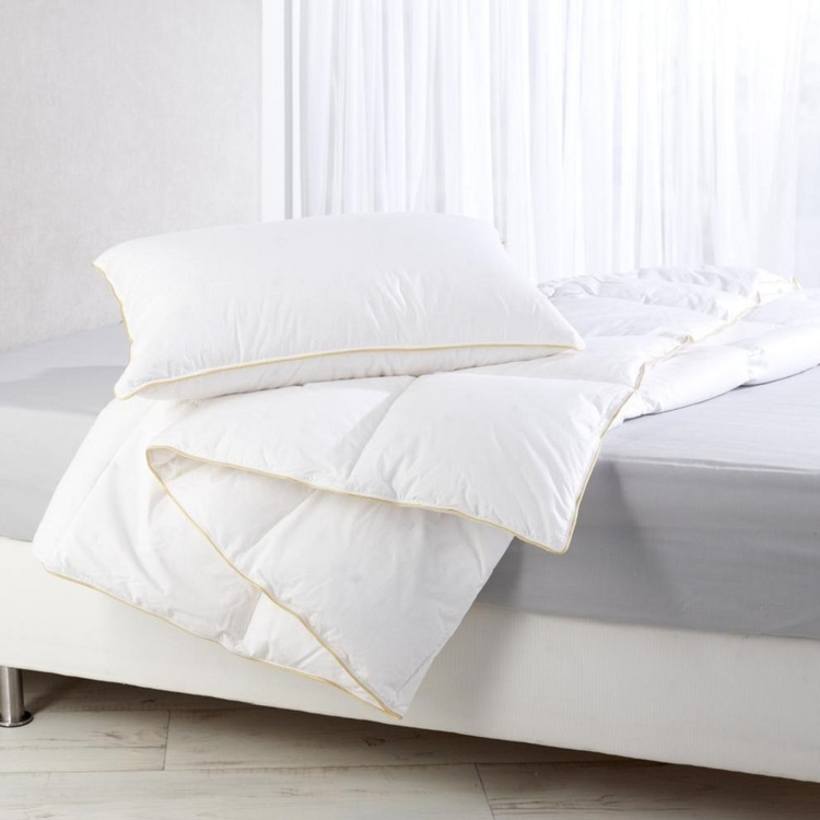 Ever Rest Silver Goose 70% Down 30% Feather Quilt White