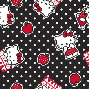 Hello Kitty Apple Dot Kids Fabrics