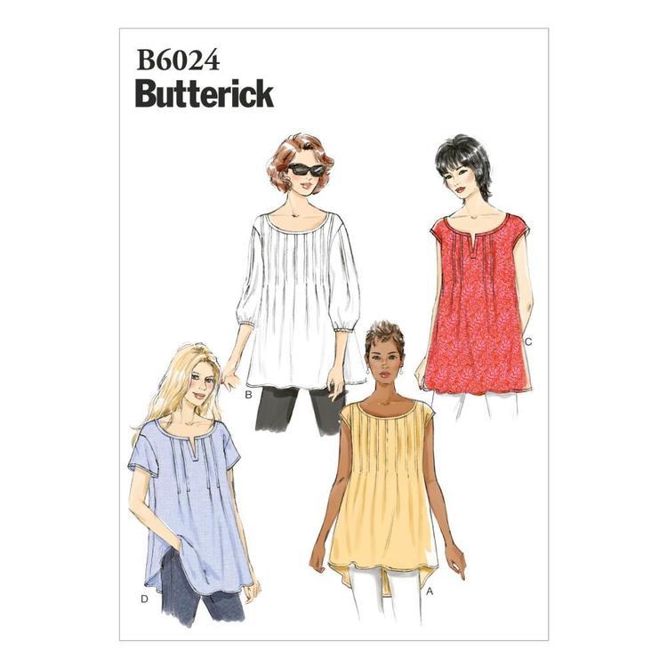 Butterick Pattern B6024 Misses' Top
