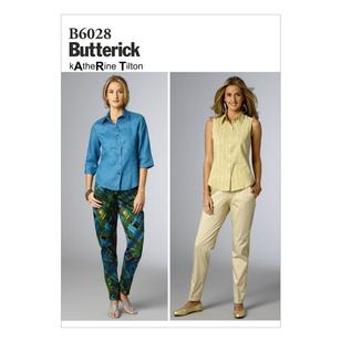 Butterick B6028 Misses' Pants
