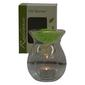 Pastel Pines Radiance Glass Oil Burner clear