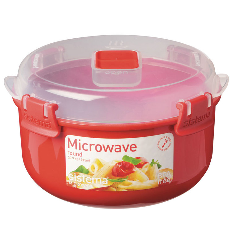 Sistema Microwave Round Bowl 915 mL