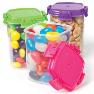 Sistema Knick Knack To Go Medium Container 3 Pack