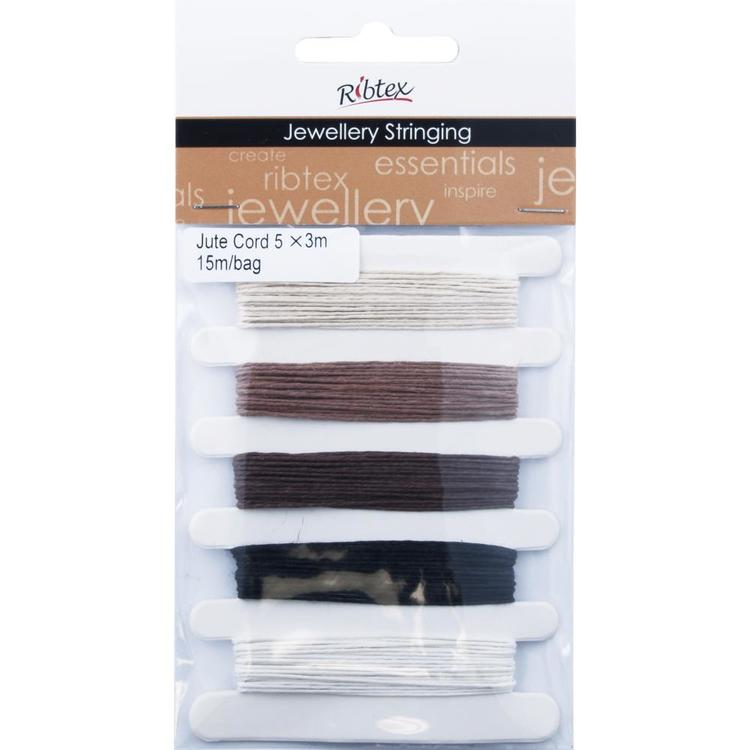 Ribtex Jewellery Stringing Jute Cord