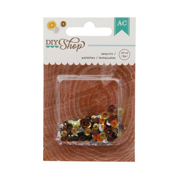American Crafts DIY Shop Sequins Multicoloured 6 g