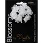 Vivaldi Blossoms 8 Head Organza Daisy With Pearls