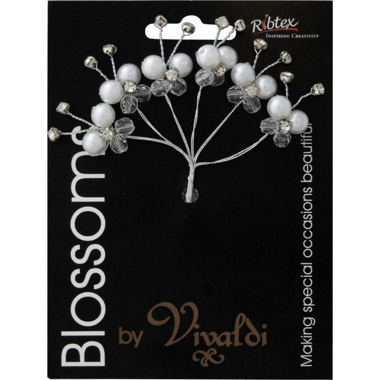 Vivaldi Blossoms 6 Head Butterfly Foam Spray