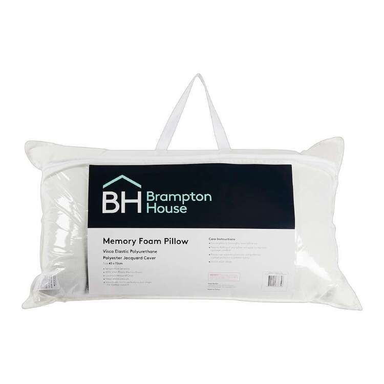 Brampton House Memory Foam Pillow