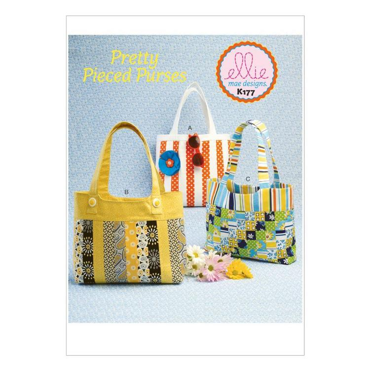 Kwik Sew Pattern K0177 Handbags