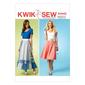 Kwik Sew K4042 Misses' Skirts One Size