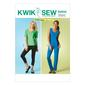 Kwik Sew K4044 Misses' Tops, Shorts & Pants  All Sizes