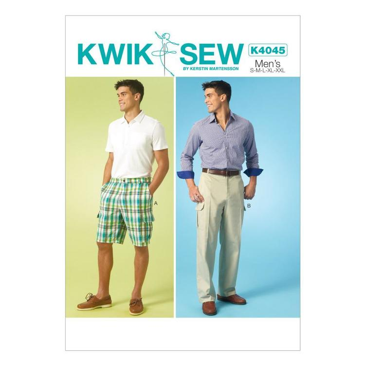 Kwik Sew Pattern K4045 Men's Shorts & Pants