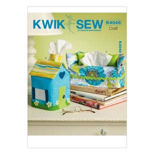 Kwik Sew K4049 Tissue Box Covers