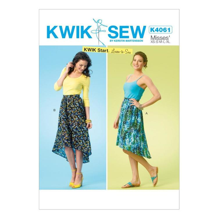 Kwik Sew K4061 Misses' Skirts One Size