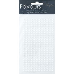 Ribtex Favours 455 Adhesive Pearls