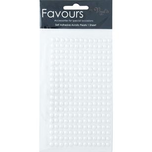 Ribtex Favours 245 Adhesive Pearls