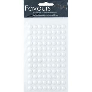 Ribtex Favours 96 Adhesive Pearls