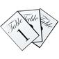 Ribtex Favours Table Numbers White