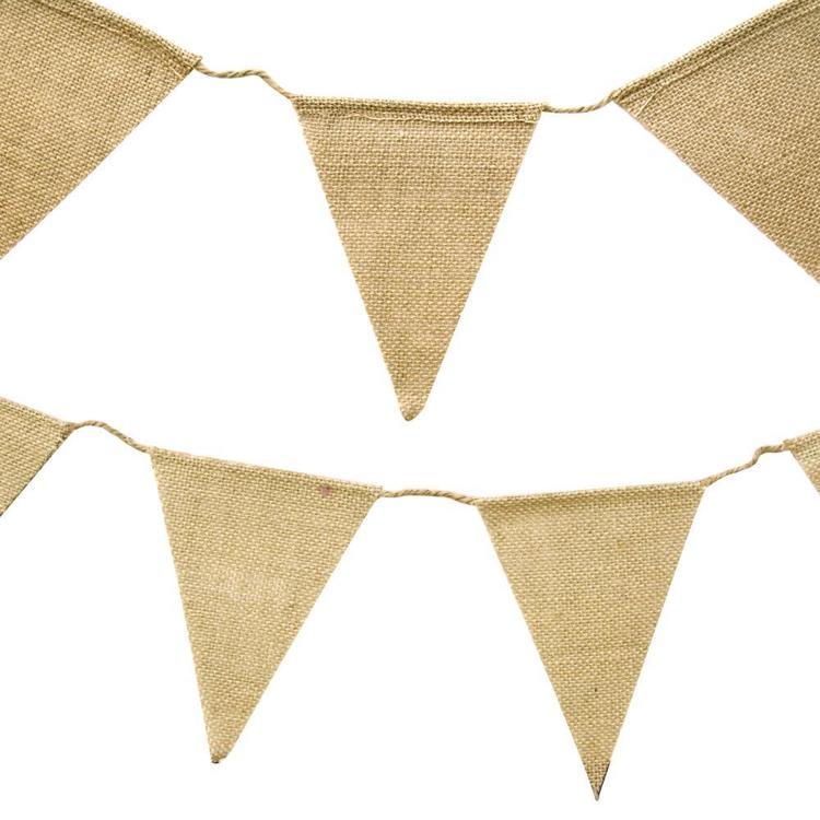 Ribtex Favours Bunting Natural