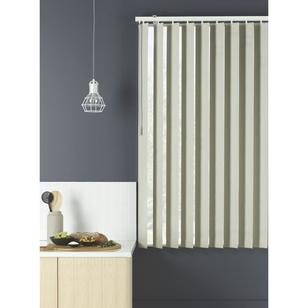 Caprice Platinum Vertical Blind Grey Stone
