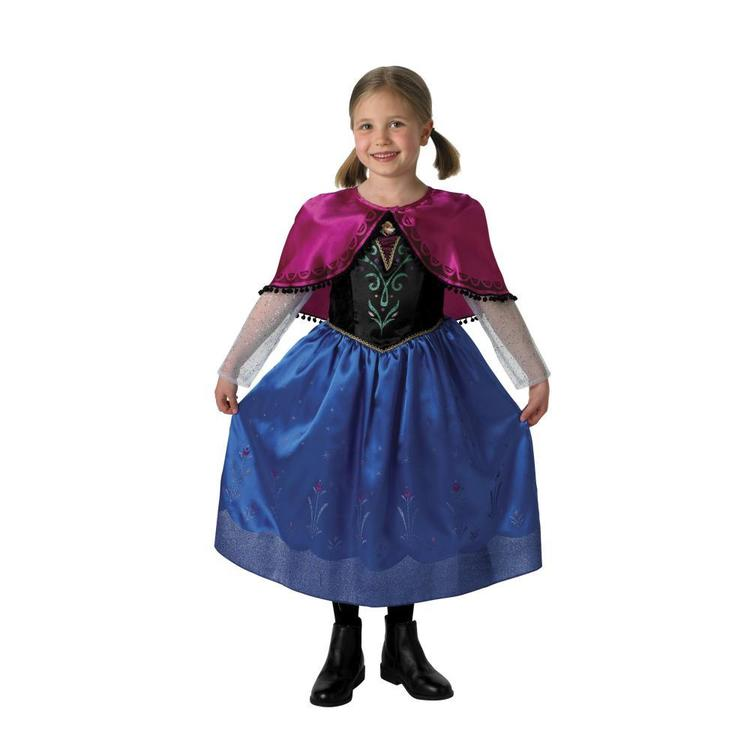 Disney Frozen Anna Character Costume Multicoloured