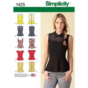 Simplicity Pattern 1425 Women's Top
