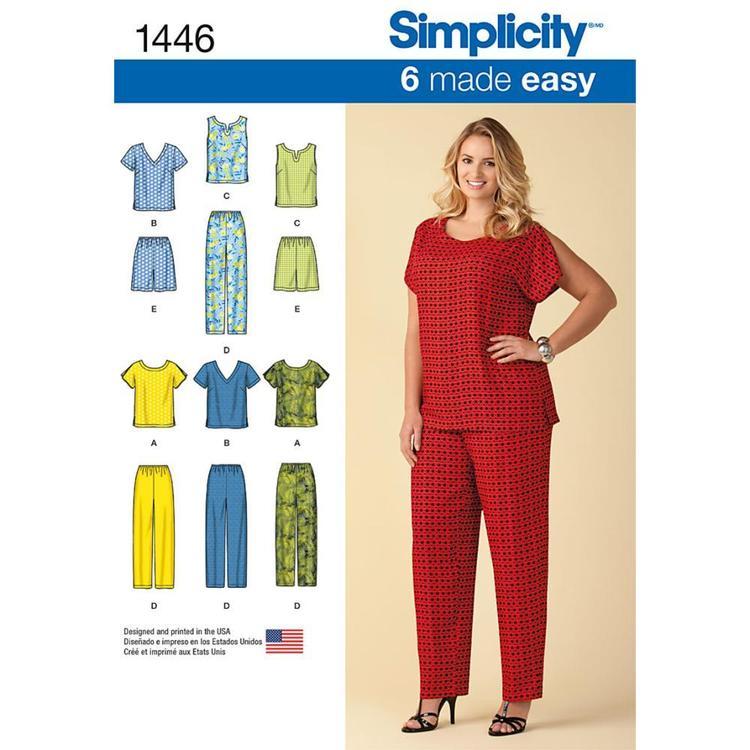 Simplicity Pattern 1446 Women's Coordinates