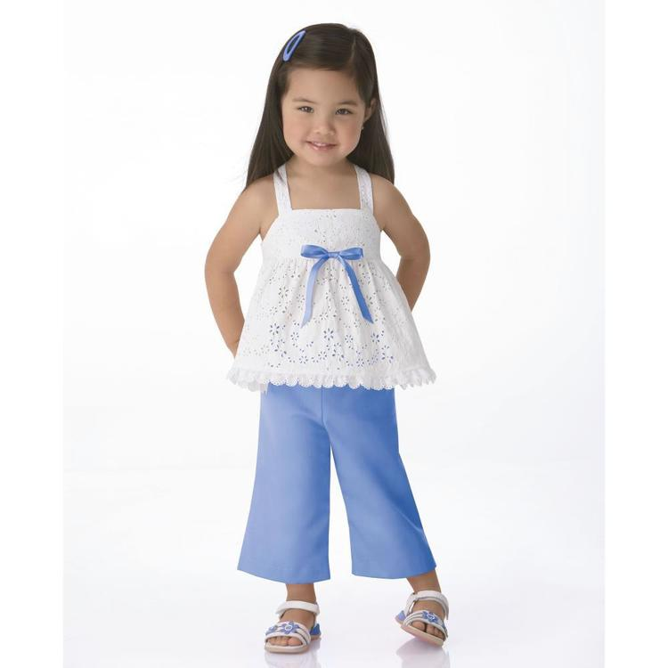 Simplicity Pattern 1451 Girl's Coordinates  6 Months - 4 Years