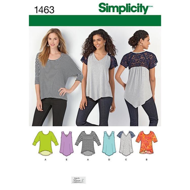 Simplicity Pattern 1463 Women's Top