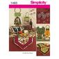 Simplicity 1483 Entertainment Accessories  One Size