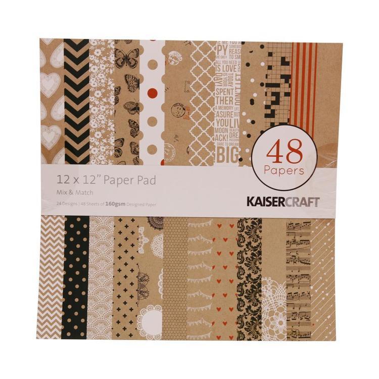 Kaisercraft Mix & Match Paper Pad